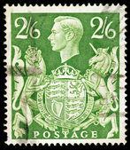 Oude Engelse postzegel — Stockfoto