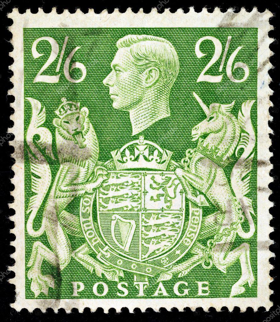 Old English Postage St...