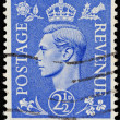 Stock Photo: Vintage British Postage Stamp