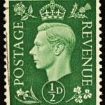 Постер, плакат: Vintage British Postage Stamp