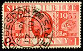 Sztuka brytyjskich znaczków — Zdjęcie stockowe