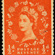 Old English Postage Stamp — Stock Photo #2421153