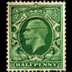 Постер, плакат: Vintage English Postage Stamp