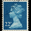 English Postage Stamp — Stock Photo