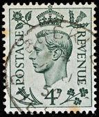 Vintage Engels postzegel — Stockfoto