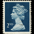Stock Photo: English Postage Stamp