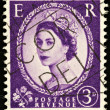 Old English Postage Stamp — Stock Photo #2457134