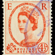 Old English Postage Stamp — Stock Photo #2457145
