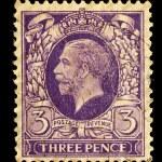 ������, ������: Vintage British Postage Stamp