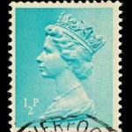 English Postage Stamp — Stock Photo #2457506