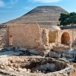 Herodium, ancient fortress. - Stock Photo