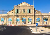 Old railway station in Jerusalem. — Stock Photo