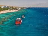 Eilat gulf, Israel. — Stock Photo