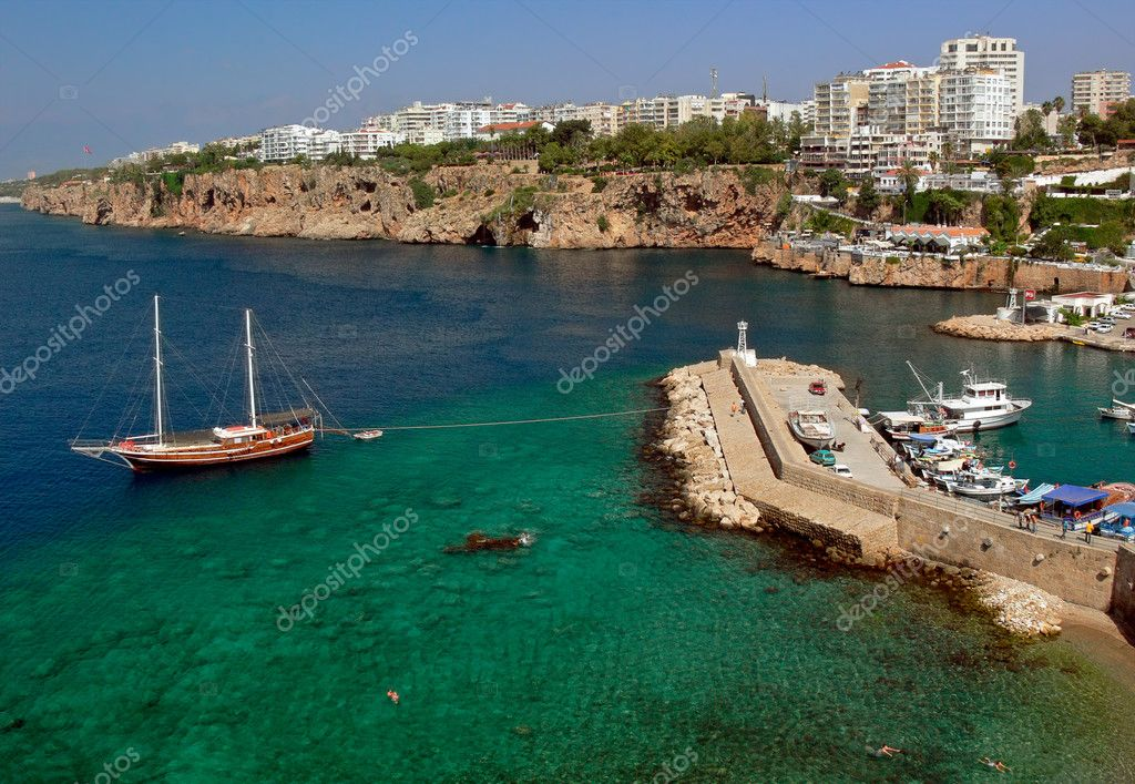 Sea tour of the Mediterranean sea. Antalia. Turkey.  Stock Photo #2456709