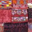 Greek Fabrics — Stock Photo