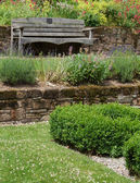 Garden Seat — Stock Photo