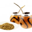 Royalty-Free Stock Photo: Couple of mate cups and mate