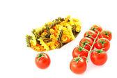 パスタ、トマトの束 — ストック写真