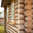 Stock Photo: Wood blockhouse