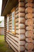 Wood blockhouse — Foto Stock