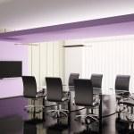 salle de conférence 3d render — Photo
