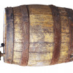 木制酒桶 — 图库照片
