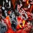 Fire and ash — Stock Photo #2274094