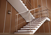 Staircase 3d — Stock Photo