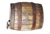 Wooden cask — Stock Photo