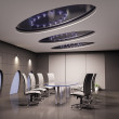 Conference room 3d — Stock Photo #2458413
