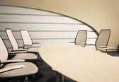Masa ve sandalyeler 3d — Stok fotoğraf