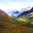 Stock Photo: Autumn mountains of Scandinavia