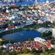 Bergen landscape in Norway - Stock Photo