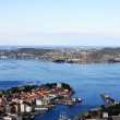 Bergen landscape in Norway — Stock Photo #2324497