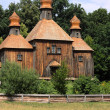 Wooden Church In Pirogovo - Stock Photo