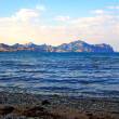 Sea and mountains crimea beautiful lansc — Stock Photo #2417994