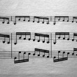 Stock Photo: Music sheet