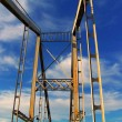 Bridge in the sky — Stock Photo