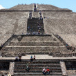 Stock Photo: Pyramid of the Sun