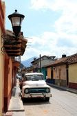 San Cristobal de las Casas street — Stock Photo