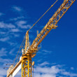Stock Photo: Hoisting crane
