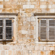 Royalty-Free Stock Photo: Window shutters on old house - Croatia