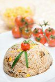 Chicken risotto — Stock Photo