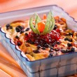 Royalty-Free Stock Photo: Baked pasta with cranberries