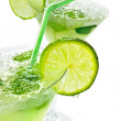 Margaritas with lime — Stock Photo
