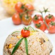 Chicken risotto - Stockfoto