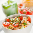 Chicken risotto — Stock Photo