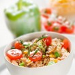 Chicken risotto - Stock Photo