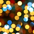 Abstract christmas lights — Stock Photo
