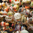Christmas balls - decorations — Stock Photo